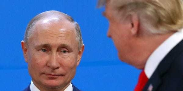 Russia was the big winner from Trump's G7 performance - Business Insider