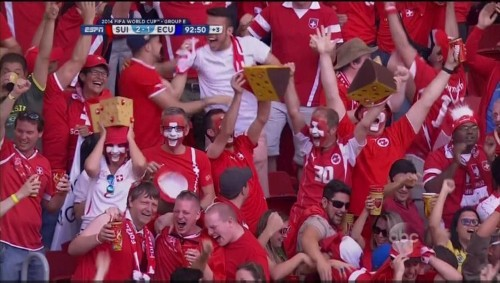 How Switzerland Scored The Most Dramatic Goal Of The World Cup So Far
