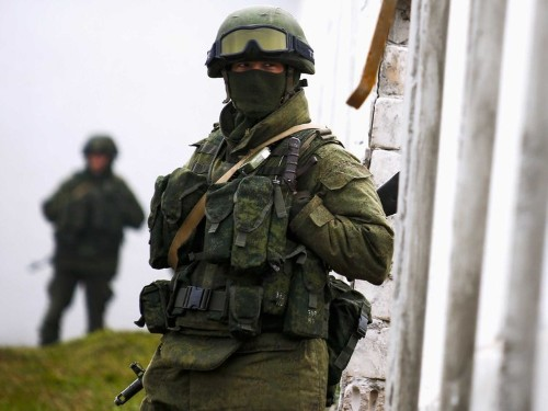 Russian Forces Seize Another Military Airport In Ukraine's Crimea