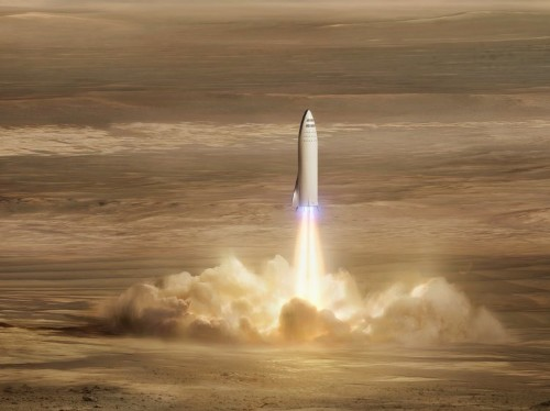 Elon Musk's SpaceX Falcon 9 rocket will look like a smaller version of the moon-bound Big Falcon Rocket