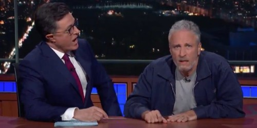Jon Stewart fires back at Mitch McConnell for downplaying his efforts