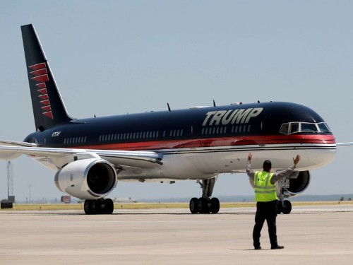 Check out 'Trump Force One' — Donald Trump's personal Boeing airliner