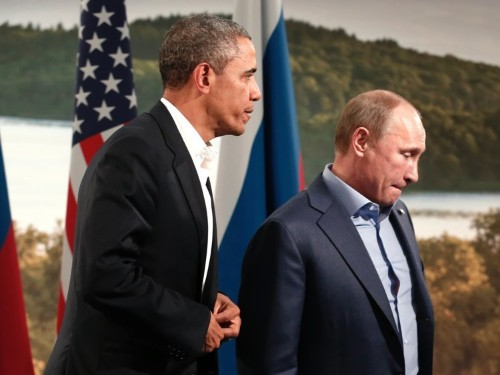 Obama blames Putin for slowing the progress of nuclear arms reduction