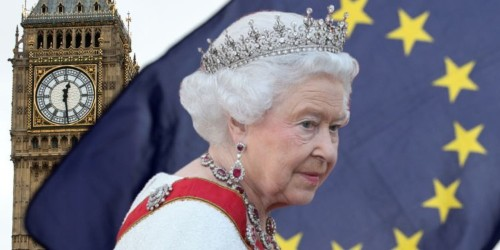 The Queen is being dragged into Britain's Brexit crisis