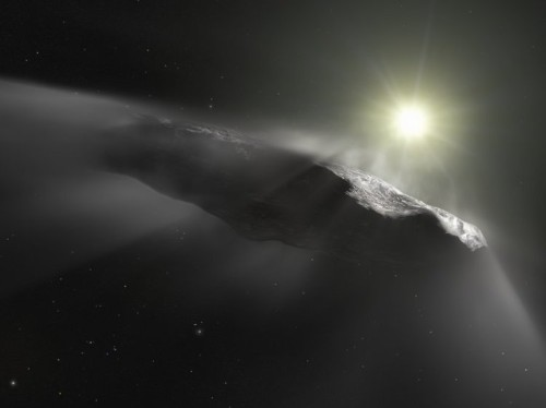 Mysterious interstellar 'Oumuamua' object could be a solar-powered alien probe, Harvard scientists say