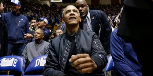 President Obama has released his March Madness bracket, and like everyone else, he's picking Duke to win it all