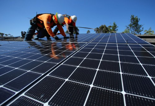 Investors who 'couldn't care less' about clean energy are giving money to a solar finance fund promising big returns