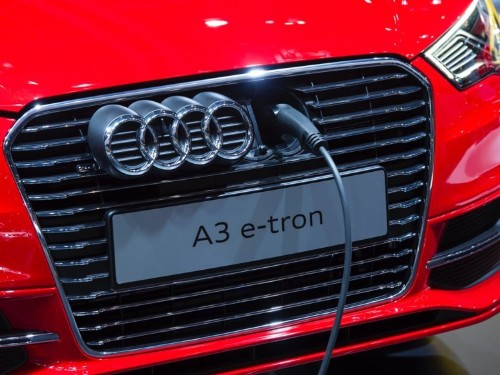 Audi is cranking up deliveries of electric cars