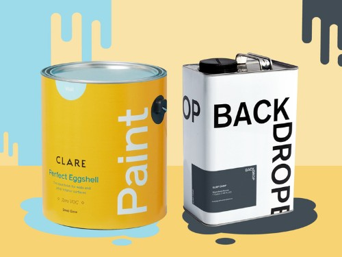 Backdrop vs. Clare — how the two home paint startups compare