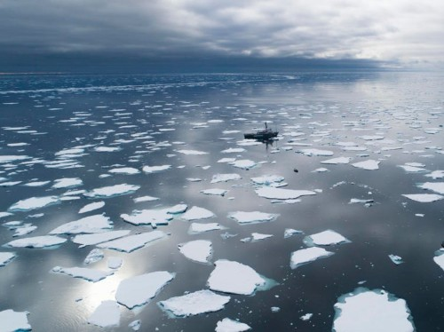 Melting ice could weaken Atlantic ocean currents, changing climate