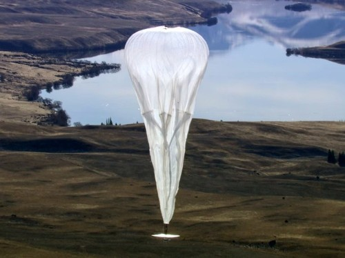 Here's how Google makes its giant, internet-beaming balloons