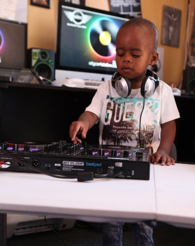 This 2-year-old disc jockey is becoming a phenomenon in South Africa