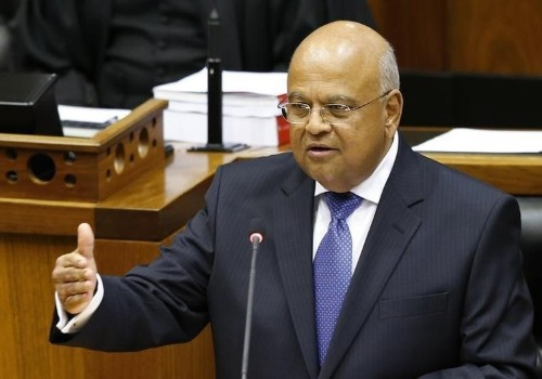 South Africa is on its third finance minister in a week, and now the rand is going nuts