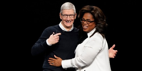 Watch Oprah and Tim Cook debut Apple's original-video service: Apple TV+
