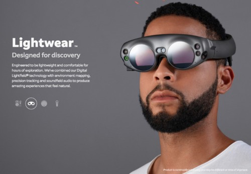 After 6 years and $1.9 billion, secretive startup Magic Leap unveils its smart glasses for first time