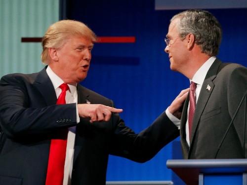Donald Trump and money in politics