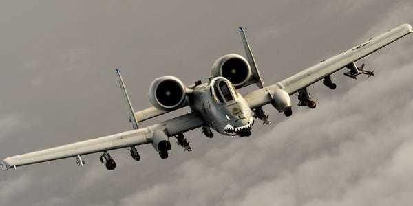 15 photos of the legendary A-10 Warthog - Business Insider