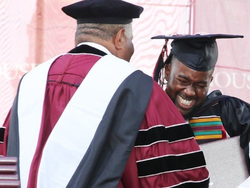 I'm a Morehouse College grad and my student loans were all paid off