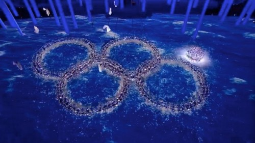 Russia Made A Brilliant Olympic Ring Malfunction Joke At The Closing Ceremony