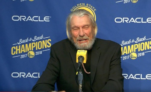 Long-time NBA head coach Don Nelson looks a lot different in retirement and is 'smoking some pot'