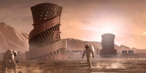 NASA held a contest to design a habitable 3D printed home on Mars — here's what that could look like