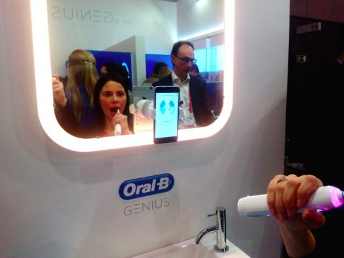 Oral-B just unveiled a new smart toothbrush which shows the potential P&G has to make more of its products 'smart'