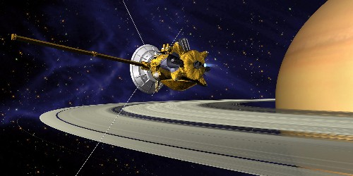 Today, NASA will send its Cassini spacecraft on a daredevil mission that will take it extremely close to Saturn's rings