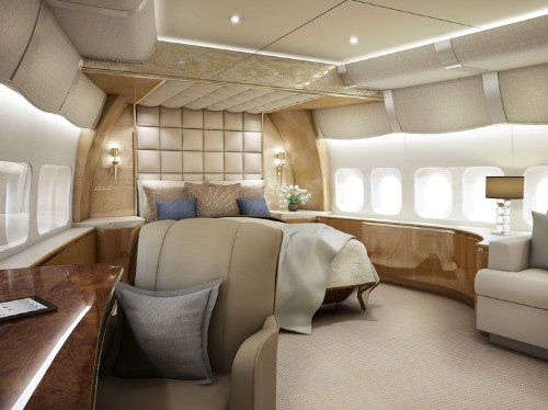 This 747 private jet makes Donald Trump's plane look tiny