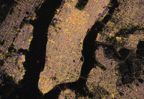 900 million Wi-Fi networks are revealed in this dazzling map of electronic life around the world