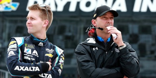 A 21-year-old who learned to race with an online simulator and didn't start driving competitively until 15 won pole position for the Daytona 500