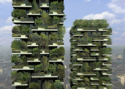 This tree-covered Italian skyscraper gives new meaning to 'green architecture'