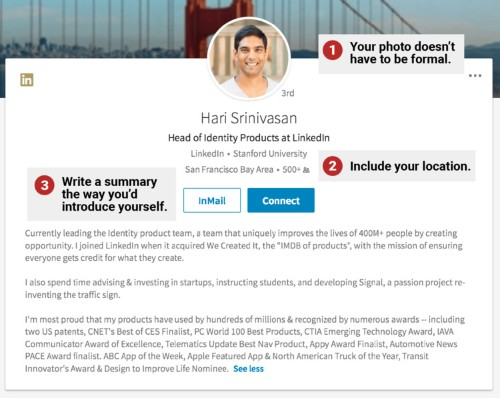 How to make a LinkedIn page that wows recruiters, according to the guy who overhauled its design