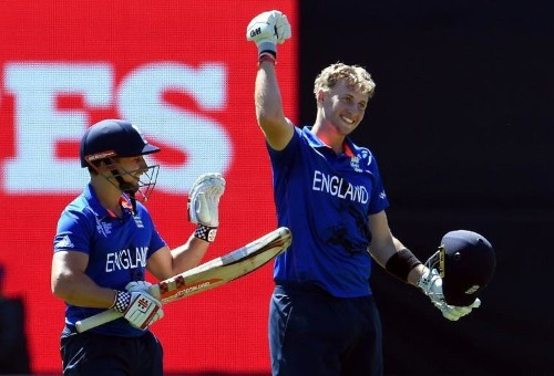 Root's ton lifts England to 309-6 against Sri Lanka at World Cup