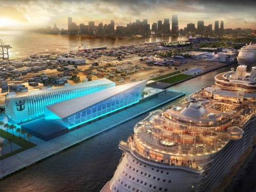 Royal Caribbean will spend $400 million on a stunning new Miami cruise terminal