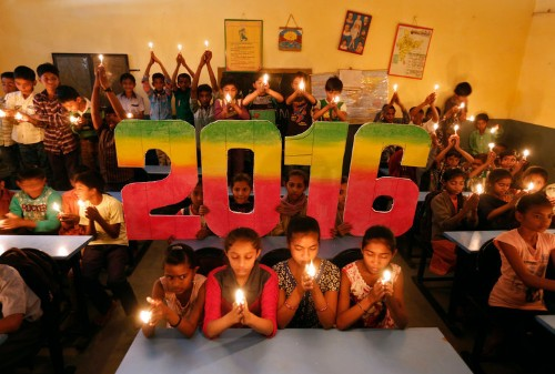 Here's how people around the world celebrated the New Year