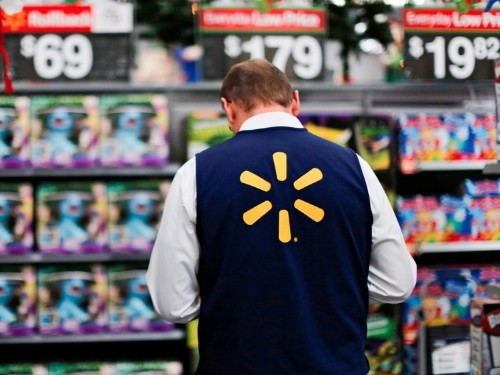 Walmart has a futuristic new weapon in the war on Amazon