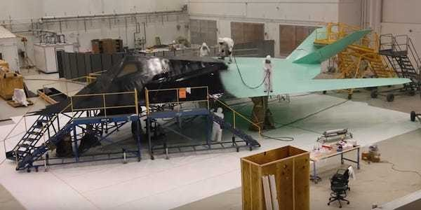 Check out F-117 Nighthawk stealth aircraft being restored for display - Business Insider