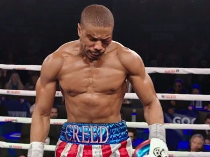 Michael B. Jordan got knocked out for real while shooting 'Creed,' and the video is brutal