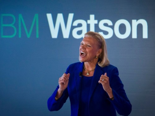 Meg Whitman says IBM's Watson is 'not as far along' as you might think