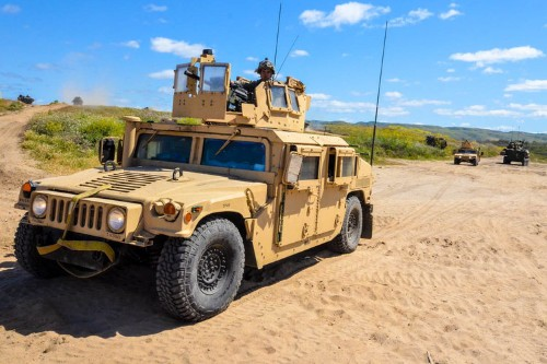 The Marine Corps wants smart trucks that can pretty much repair themselves