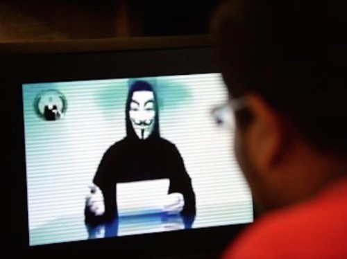 Some Anonymous members are complaining about the 'war' on ISIS