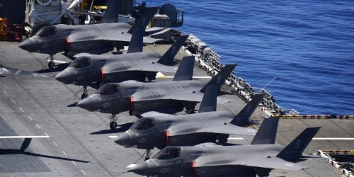 The US wants to 'push back' on China's new stealth fighter by sending more F-35s to the Pacific