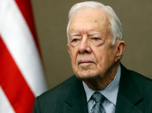 JIMMY CARTER: Donald Trump has tapped into a reservoir of 'inherent racism'