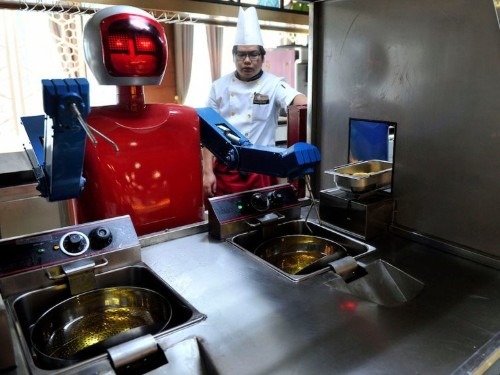 The 11 US cities most at risk for having jobs stolen by robots