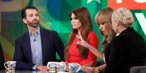 Donald Trump Jr. and 'The View' host Sunny Hostin fight on Twitter - Business Insider