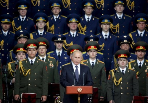 Russia and NATO are edging toward a high-risk military standoff