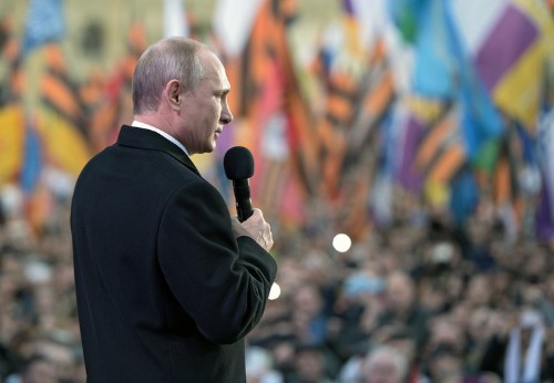 Putin admits that he's causing problems for Russia