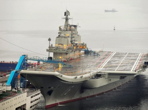 China is building a 2nd aircraft carrier