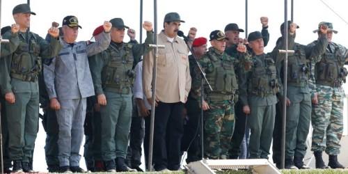 John Bolton says Venezuela's Maduro could end up in a 'beach area like Guantanamo'
