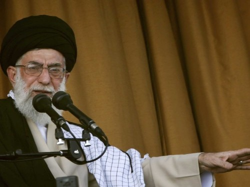 Iran's Supreme Leader Says The United States Would Overthrow The Iranian Government If It Could